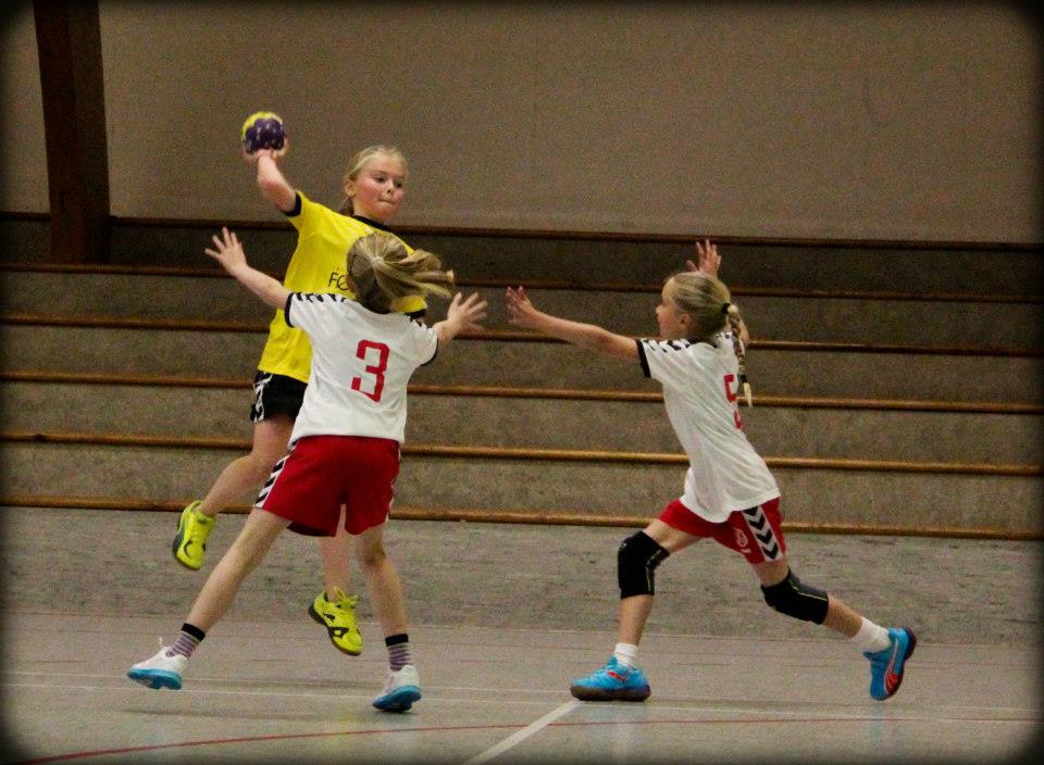 Eyðbjørg B. Jacobsen upp til hoppskot